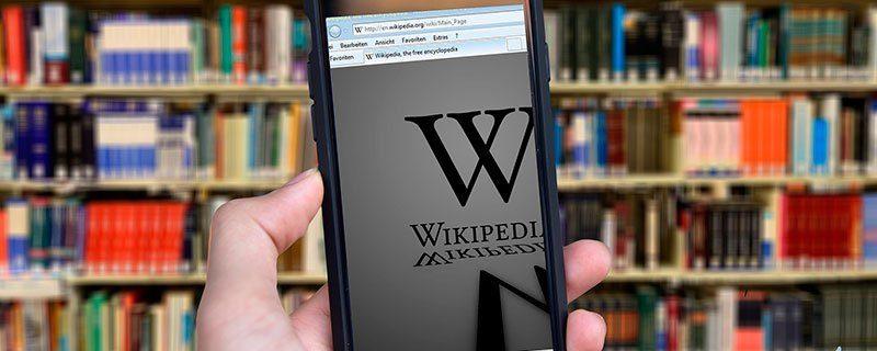 La Wikipedia se cierra en defensa de la Web abierta